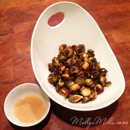 Molly's Mills Fried Brussels Sprouts