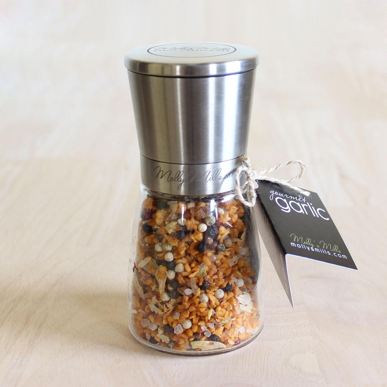 Molly's Mills Gourmet Garlic Blends