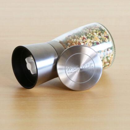 Molly's Mills Garlic Spice Blends | Ceramic Spice Grinder