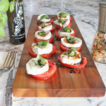 Molly's Mills Caprese Salad from the Boise Idaho Farmers Market