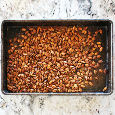 Roast the Pumpkin Seeds with Molly's Mills