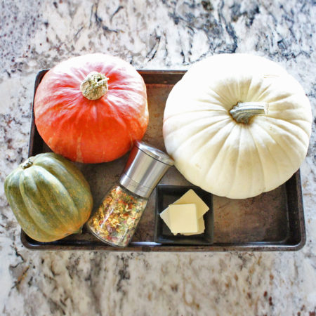 Ingredients for Roasted Pumpkins Seeds with Molly's Mills Idahoan