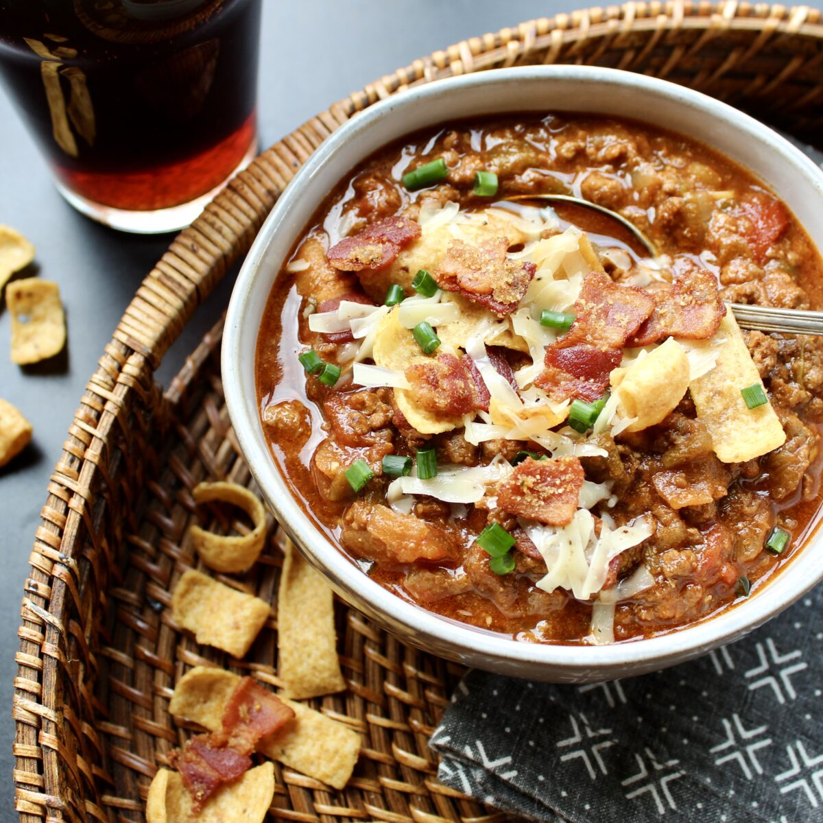 Beef, Beer, and Bacon Chili