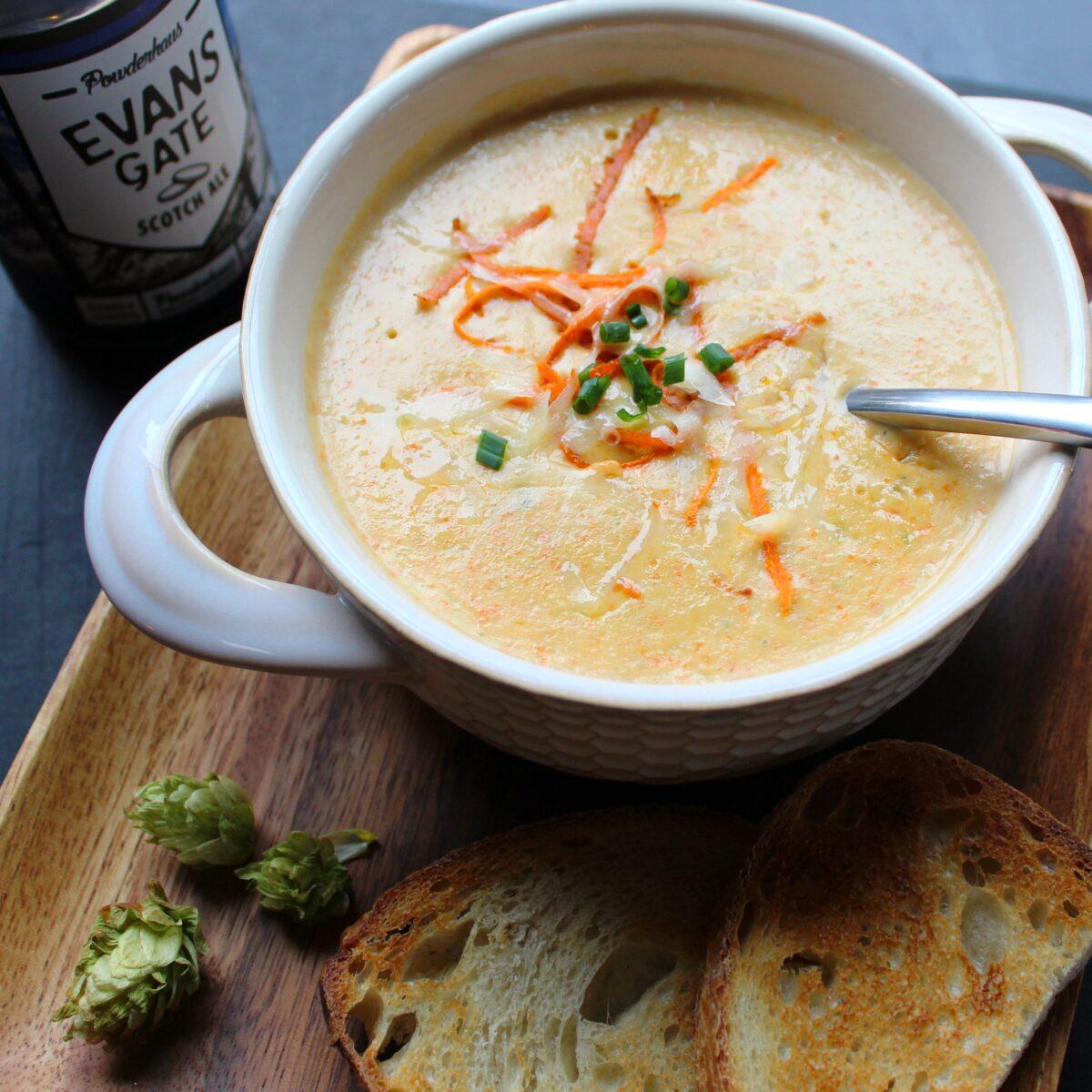 Jalapeño Beer Cheese Soup