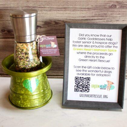 Green Heart Idahoan Spice